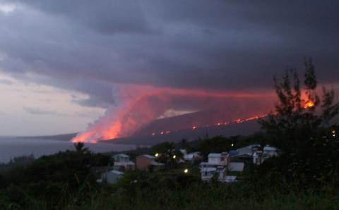 risques naturels France outre-mer volcanisme