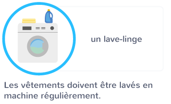 lavage vêtements bactéries machine