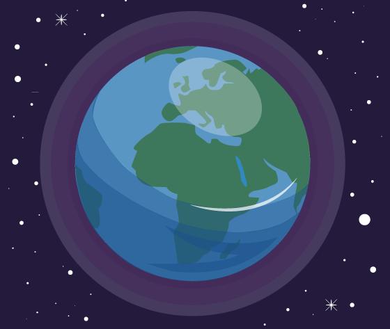 planète Terre 70 % océans mer planète bleues