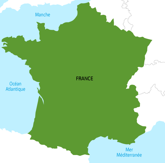 France un 1 océan 2 deux mers