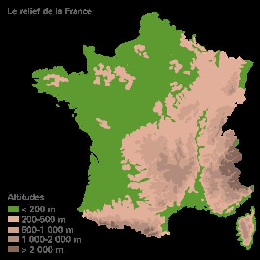 carte géographique titre légende