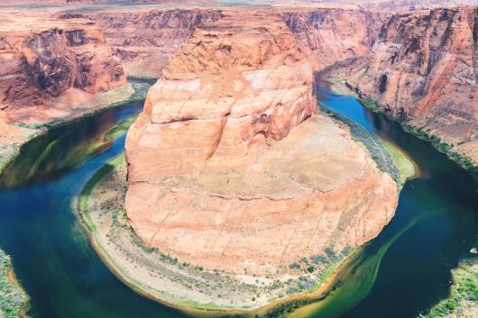 différents paysages monde canyon