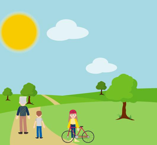 activités village randonnées pied cheval vélo