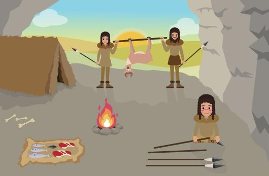 mode vie hommes préhistoriques
