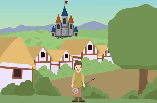 mode de vie Moyen Âge