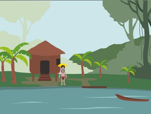 vivre forêt amazonienne climat chaud humide Indiens d'Amazonie