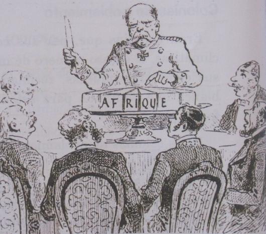 conférence Berlin XIXe siècle préparation conquête continent africain
