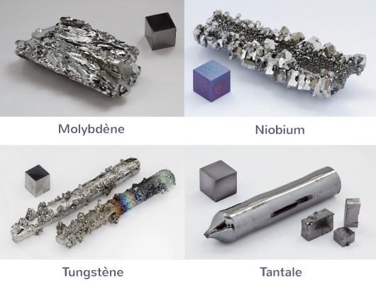définition métaux exemples
