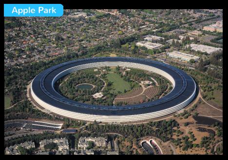 Apple Park puissance États-Unis