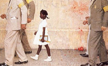 The Problem We All Live With, Norman Rockwell, 1964