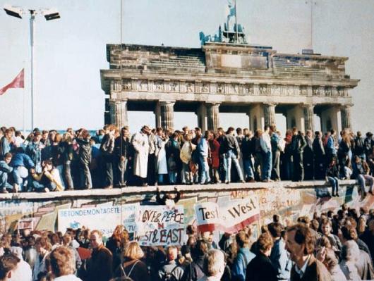mur Berlin effondrement bloc soviétique