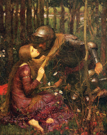 La Belle Dame Sans Merci, John William Waterhouse, 1893