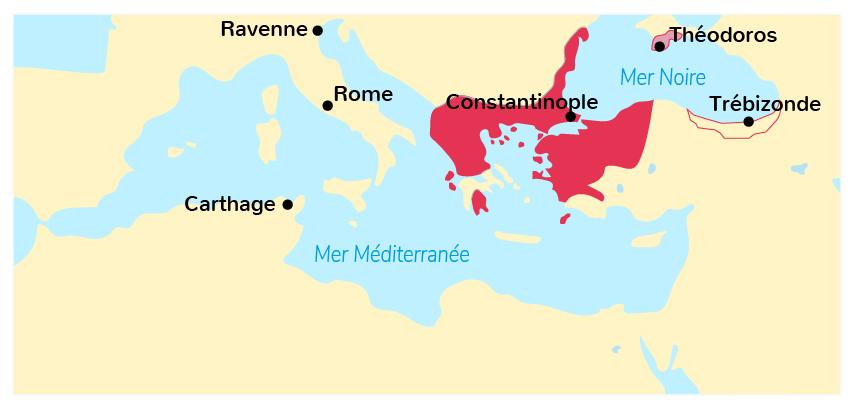 L'Empire byzantin au XIIIe siècle