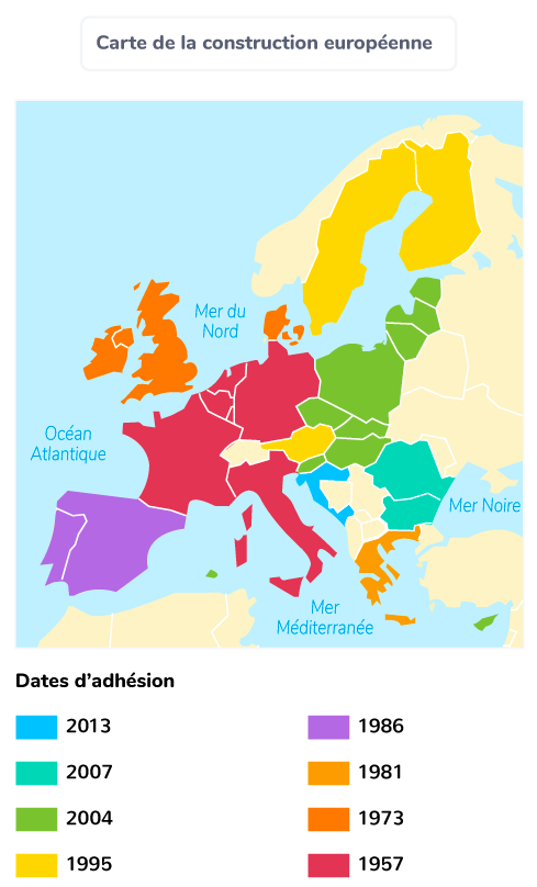 carte construction Union européenne