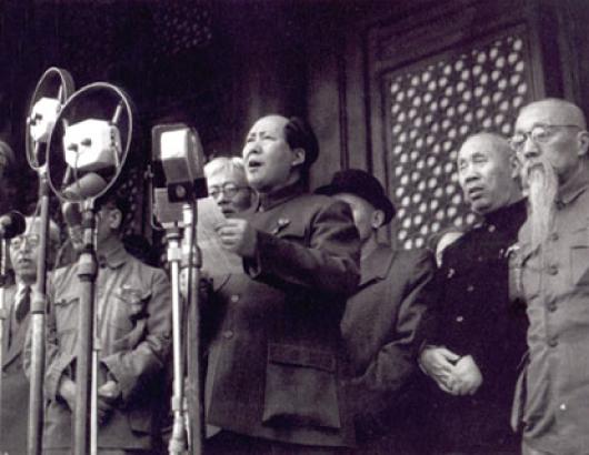 Mao Zedong Chine nouvel acteur