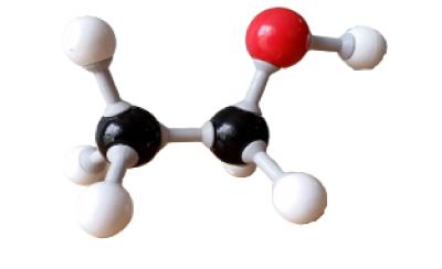 modèle moléculaire molécule éthanol