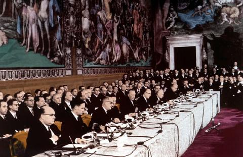 traité de Rome CEE Europe France