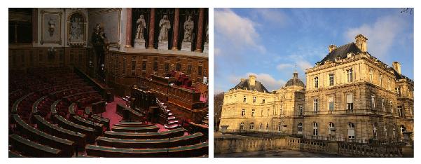 Sénat palais Luxembourg Paris