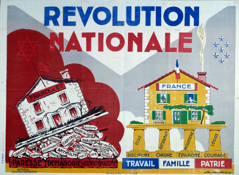 régime Vichy propagande idéologie totalitaire