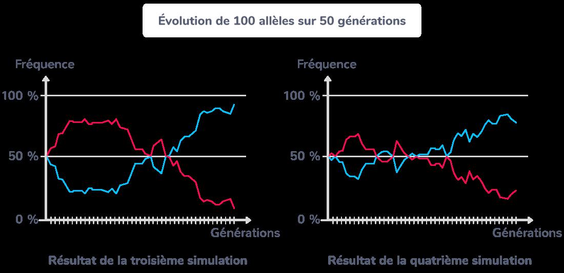 processus sélection allèle aléatoire dérive génétique