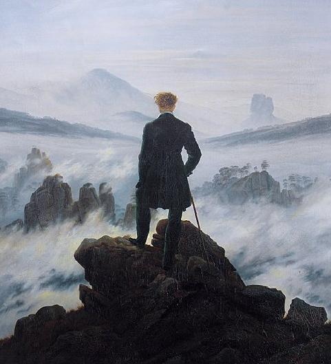 Caspar David Friedrich,Wanderer above theSea of Fog, 1818