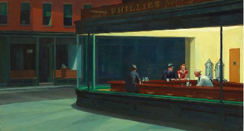Edward Hopper, Nighthawks,1942