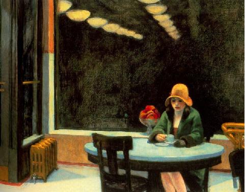 Edward Hopper,Automat, 1927