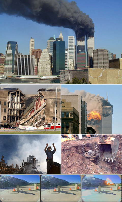 Attentats du 11 septembre 2001, New York