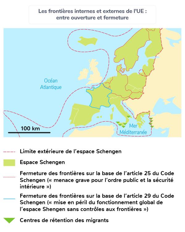 Frontières ouvertes/fermées de l'UE