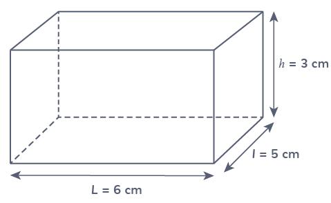 formule volume parallélépipède
