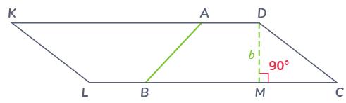 parallélogramme formé deux trapèzes