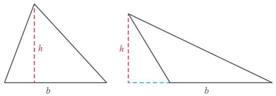propriétés aire triangle