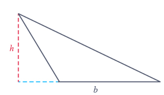 hauteur triangle situé extérieur