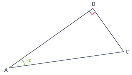 définitions fonctions trigonométriques triangle