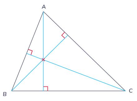 définition hauteur triangle