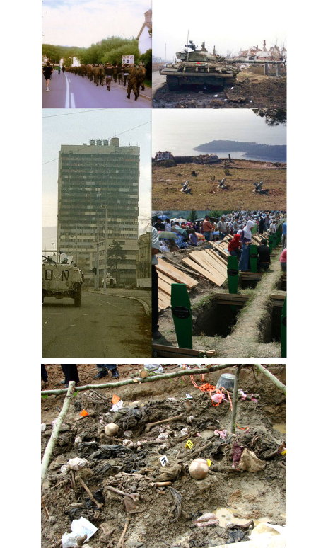 guerres Yougoslavie massacres Bosniaques musulmans
