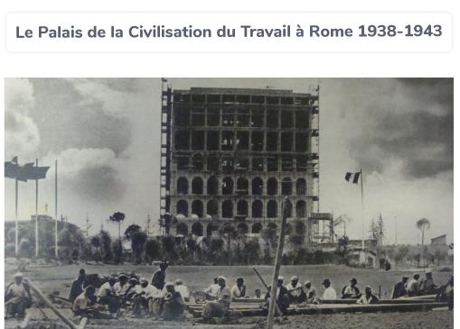 palais Rome Italie fascisme