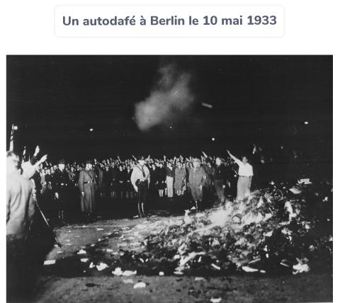 autodafé Berlin dictature