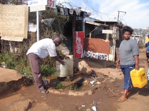 Le bidonville de Soweto à Johannesburg