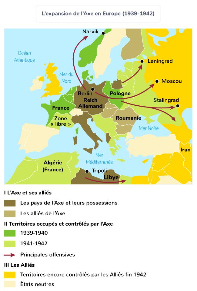 victoires Axe 1939-1942