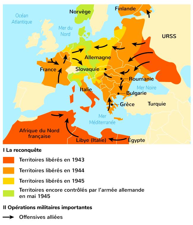 victoires Alliés 1942-1945