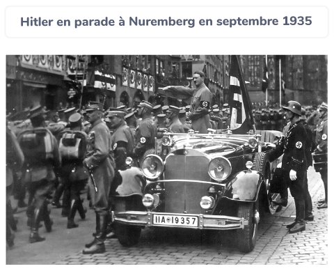 Hitler parade Nuremberg