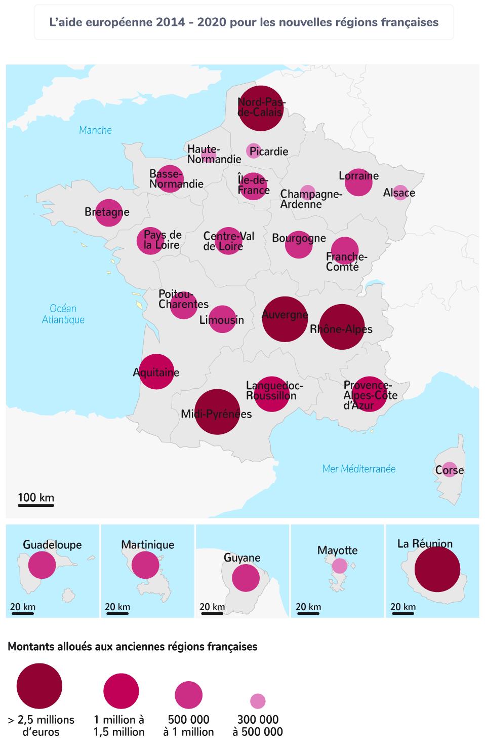 aide Union européenne régions françaises