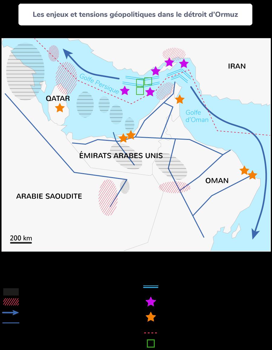 Les enjeux et tensions géopolitiques dans le détroit d'Ormuz