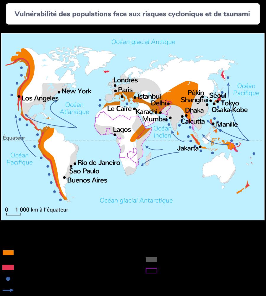 Vulnérabilité des populations face aux risques cycloniques et de tsunami