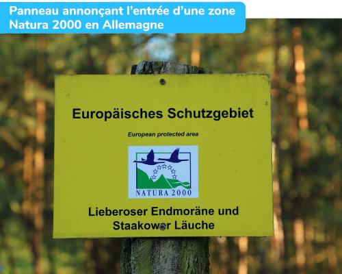 Union européenne protection espaces verts Natura 2000