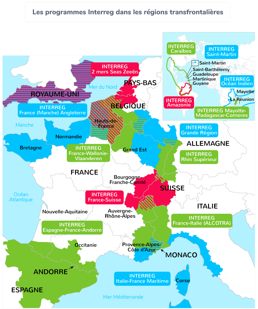 Interreg coopération transfrontalière