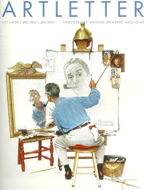 Triple Self-Portrait, Norman Rockwell,13 février 1960