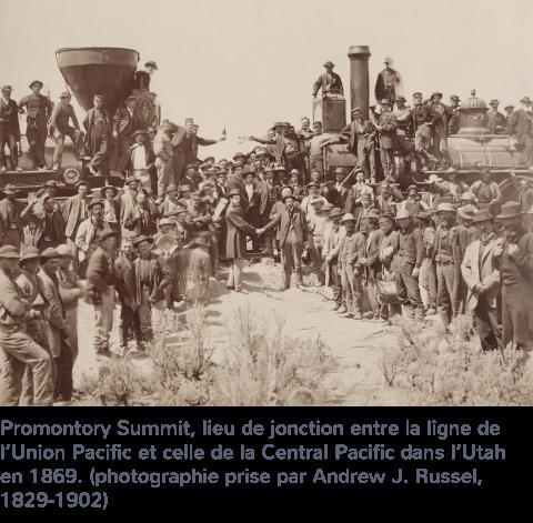 aménagement du réseau ferroviaire américain