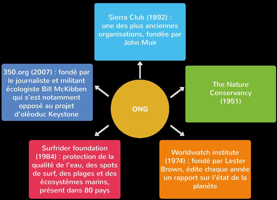 des ONG dynamiques et influentes impliquées dans la protection de l'environnement